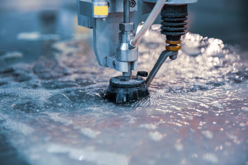 metoda cięcia woda metali