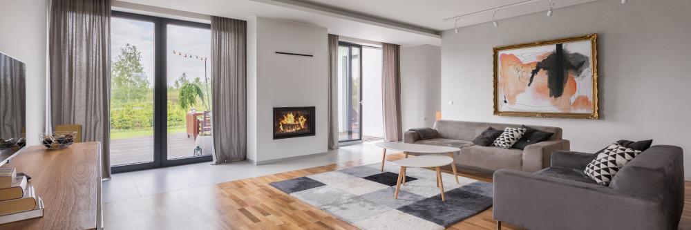 mieszkanie urządzone w stylu nowoczesnym