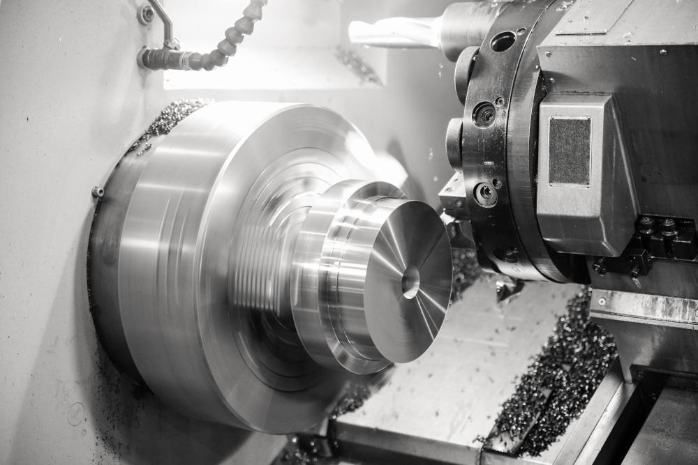 toczenie CNC materiału