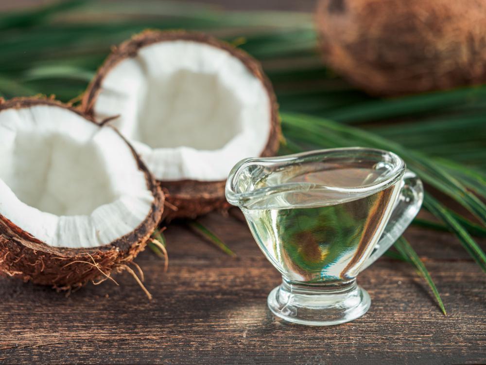 Olej kokosowy producent